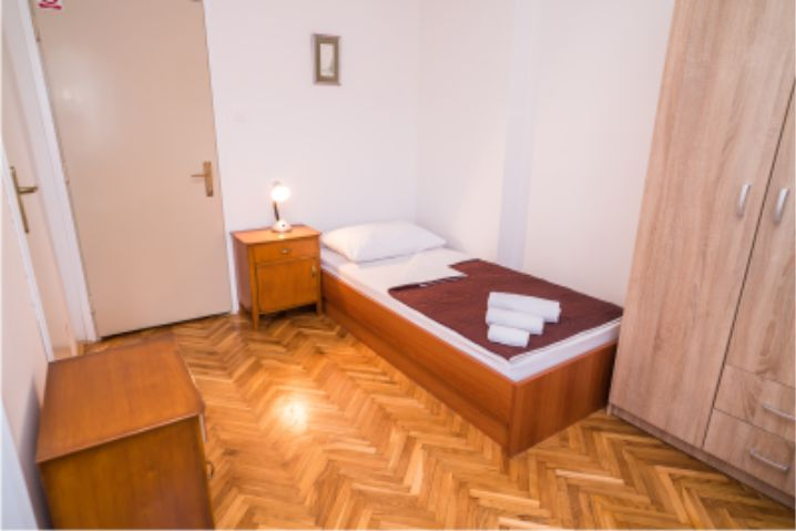 Smještaj Vincentinum Zagreb-jednokrevetna soba-2